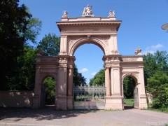 Eingangstor Bürgerpark