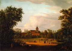 Gemälde alter Dorfanger Pankow