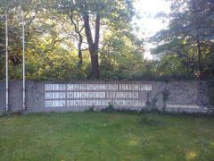 Gedenkmauer am Dichterviertel