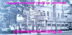 Thiemanns Festsäle Straße vor Schönholz