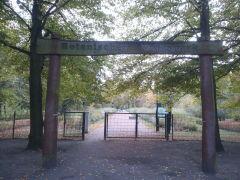 Eingang Botanischer Volkspark