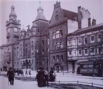 Rathaus Pankow mit Adler um 1909