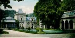 Herrenhaus des Baron Killisch von Horn mit Rosenpavillon im Bürgerpark/Killisch von Horn Park