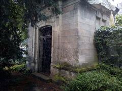Mausoleum des Baron Theodor Hermann Killisch von Horn auf dem Bürgerpark Friedhof