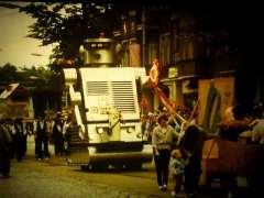 750 Jahre Berlin und 220 Jahre Schönholz 1987 in Pankow, Berliner Straße