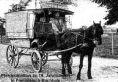 Pferde-Omnibus in Französisch Buchholz