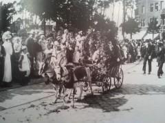Erntedanfest-Umzug Niederschönhausen und Rummel