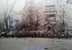 Vereinstreffen Motorsportclub Niederschönhausen um 1930