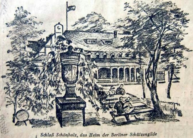 Das letzte Stück Schloss Schönholz