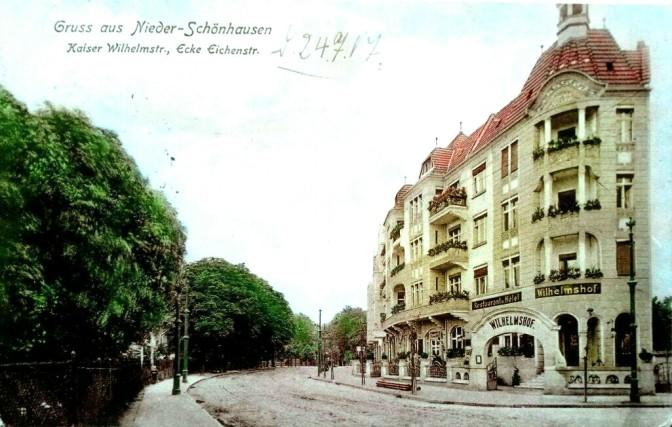 Hotel Wilhelmshof an der Kaiser-Wilhelm-Straße