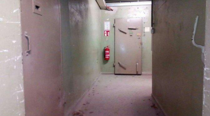 Die Gefängniszellen im Rathaus Pankow