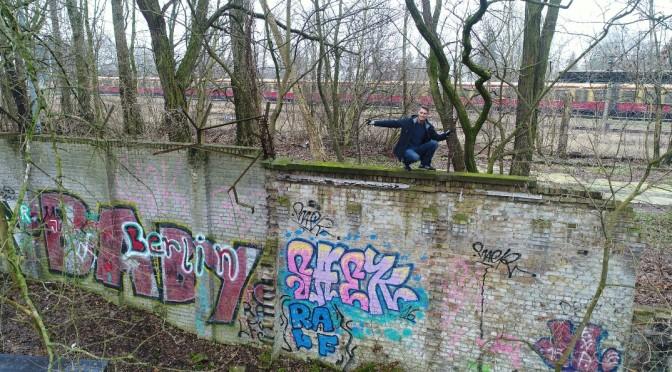 Kleine Sensation, 80 Meter innerdeutsche Staatsgrenze im Urzustand in Pankow entdeckt