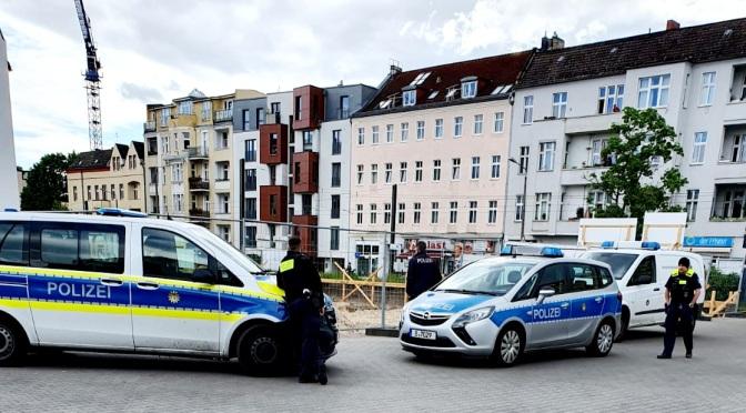 Kleine Feldstellung bei Bauarbeiten in der Dietzgenstraße entdeckt